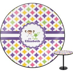 "Girls Astronaut Round Table - 30"" (Personalized)"