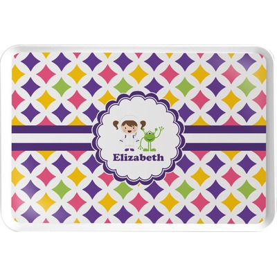Girls Astronaut Serving Tray (Personalized)