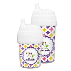 Girls Astronaut Sippy Cup (Personalized)