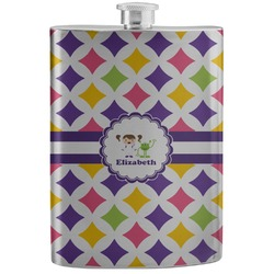 Girls Astronaut Stainless Steel Flask (Personalized)
