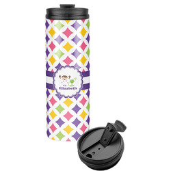 Girls Astronaut Stainless Steel Tumbler (Personalized)