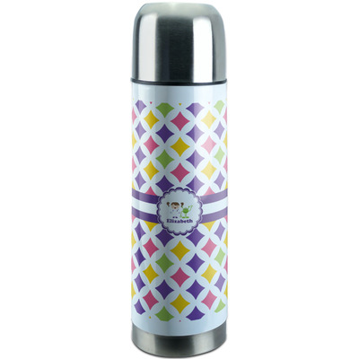Girls Astronaut Stainless Steel Thermos (Personalized)