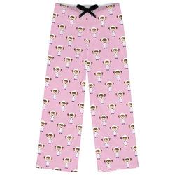 Girls Astronaut Womens Pajama Pants (Personalized)