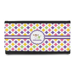 Girls Astronaut Leatherette Ladies Wallet (Personalized)
