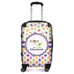 Girl's Space & Geometric Print Suitcase (Personalized)