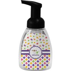 Girl's Space & Geometric Print Foam Soap Dispenser (Personalized)