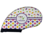 Girl's Space & Geometric Print Golf Club Cover (Personalized)