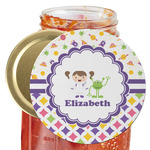 Girl's Space & Geometric Print Jar Opener (Personalized)