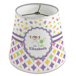 Girl's Space & Geometric Print Empire Lamp Shade (Personalized)