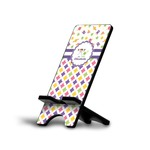 Girl's Space & Geometric Print Cell Phone Stands (Personalized)