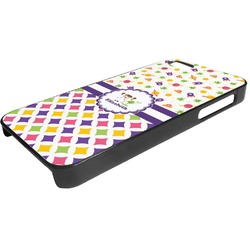 Girl's Space & Geometric Print Plastic iPhone 5/5S Phone Case (Personalized)