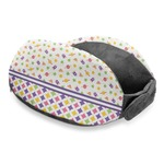 Girl's Space & Geometric Print Travel Neck Pillow