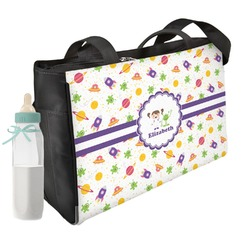 Girls Space Themed Diaper Bag (Personalized)