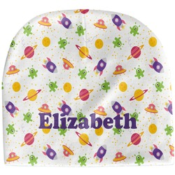 Girls Space Themed Baby Hat (Beanie) (Personalized)