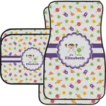 Girls Space Themed Car Floor Mats (Personalized)