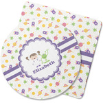 Girls Space Themed Rubber Backed Coaster (Personalized)
