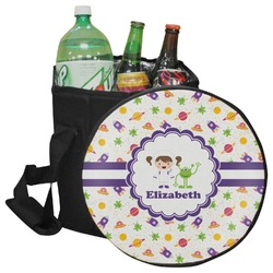 Girls Space Themed Collapsible Cooler & Seat (Personalized)