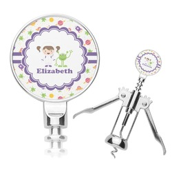 Girls Space Themed Corkscrew (Personalized)