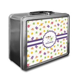 Girls Space Themed Lunch Box (Personalized)
