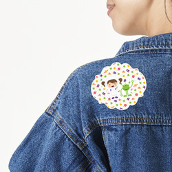 Girls Space Themed Large Custom Shape Patch (Personalized)