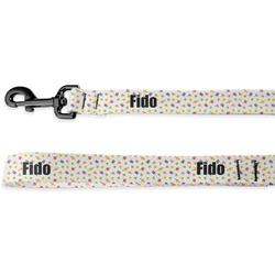 Girls Space Themed Deluxe Dog Leash (Personalized)