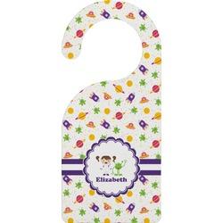 Girls Space Themed Door Hanger (Personalized)