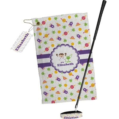 Girls Space Themed Golf Towel Gift Set (Personalized)