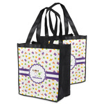 Girls Space Themed Grocery Bag (Personalized)