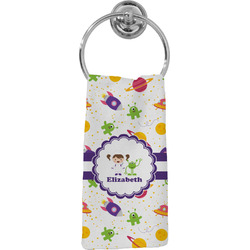 Girls Space Themed Hand Towel - Full Print (Personalized)