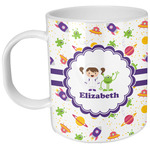Girls Space Themed Plastic Kids Mug (Personalized)