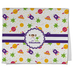 Girls Space Themed Kitchen Towel - Full Print (Personalized)
