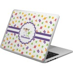 Girls Space Themed Laptop Skin - Custom Sized (Personalized)