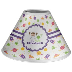 Girls Space Themed Coolie Lamp Shade (Personalized)