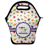 Girls Space Themed Lunch Bag (Personalized)
