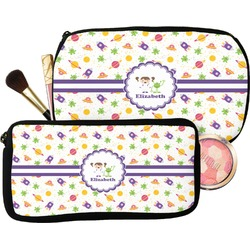 Girls Space Themed Makeup / Cosmetic Bag (Personalized)