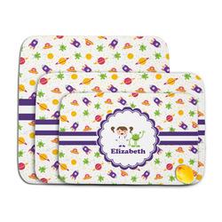 Girls Space Themed Memory Foam Bath Mat (Personalized)