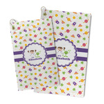 Girls Space Themed Microfiber Golf Towel (Personalized)