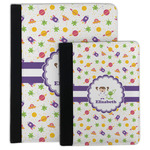 Girls Space Themed Padfolio Clipboard (Personalized)