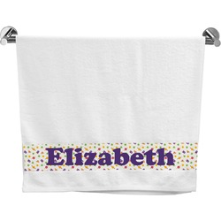 Girls Space Themed Bath Towel (Personalized)