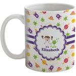 Girls Space Themed Coffee Mug (Personalized)