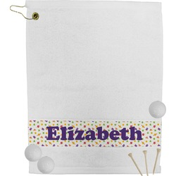 Girls Space Themed Golf Towel (Personalized)