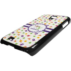 Girls Space Themed Plastic Samsung Galaxy 4 Phone Case (Personalized)