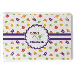 Girls Space Themed Serving Tray (Personalized)