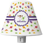 Girls Space Themed Shade Night Light (Personalized)