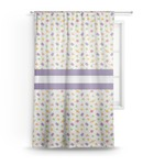 Girls Space Themed Sheer Curtains (Personalized)