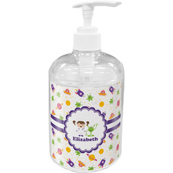Girls Space Themed Acrylic Soap & Lotion Bottle (Personalized)