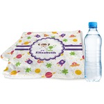 Girls Space Themed Sports & Fitness Towel (Personalized)