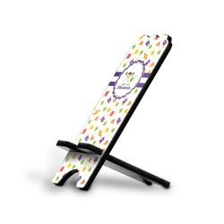 Girls Space Themed Stylized Phone Stand (Personalized)