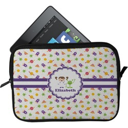 Girls Space Themed Tablet Case / Sleeve (Personalized)