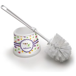 Girls Space Themed Toilet Brush (Personalized)